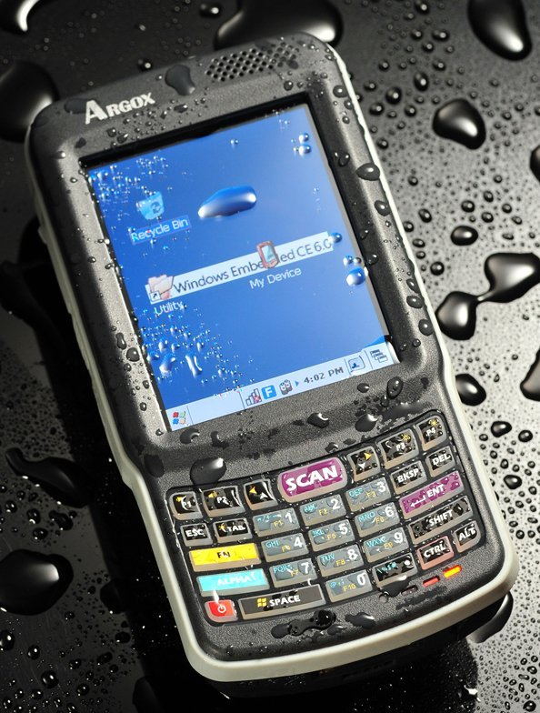 Inwentaryzator mobilny Argox PT-90 z czytnikiem kodów kreskowych