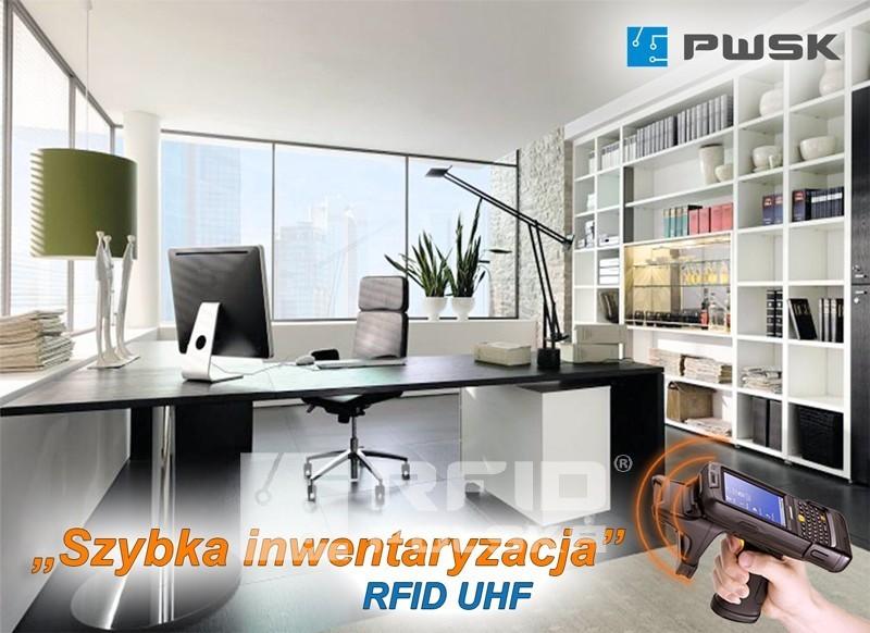 inwentaryzacja środków trwałych i wyposażenia, biura, majątku za pomocą RFID, inwentaryzator mobilny