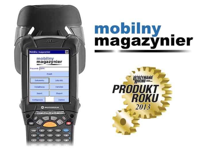 Inwentaryzator Mobilny Magazynier , inwentaryzacja mobilna, skaner, czytnik do inwentaryzacji