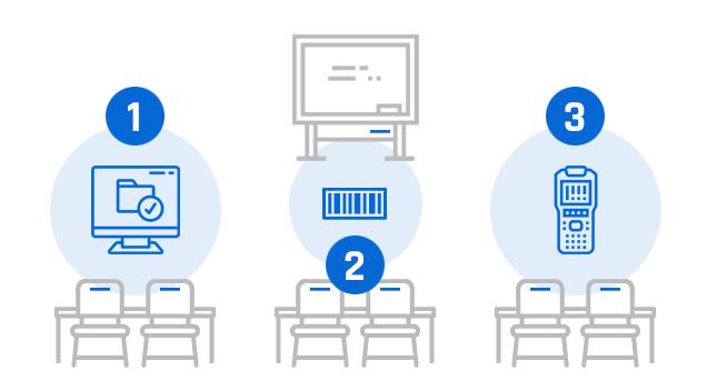 Przebieg inwentaryzacji w szkole z programem komputerowym